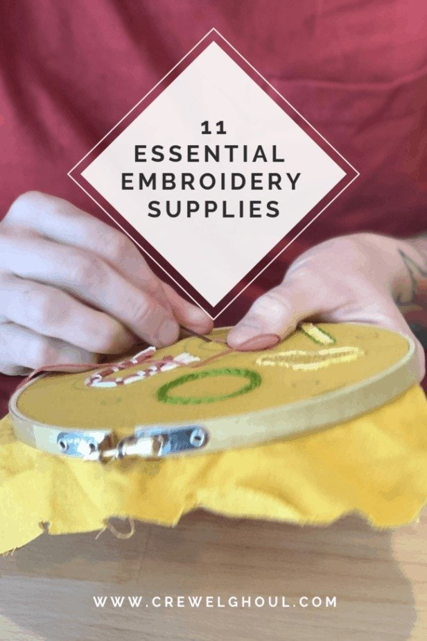 11 Essential Supplies Every Embroiderer Should Have