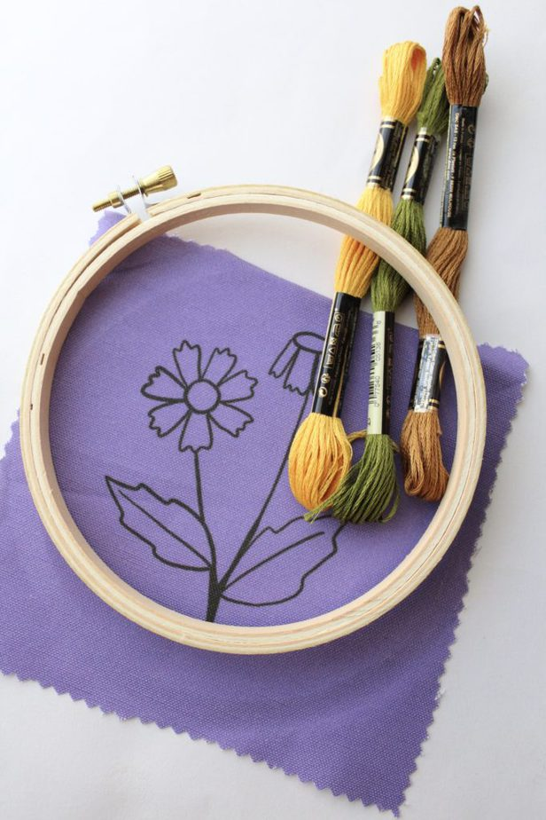 hand embroidery supplies