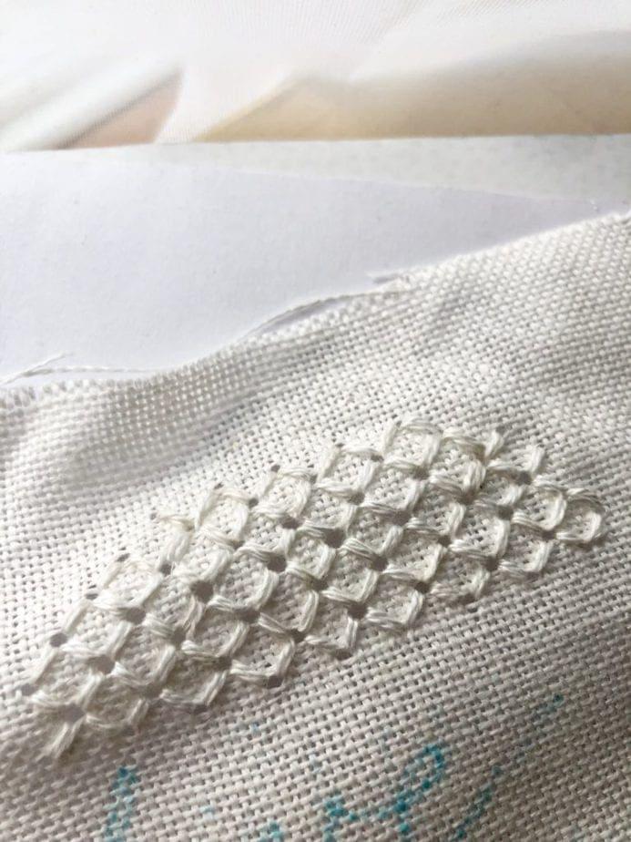 pulled thread