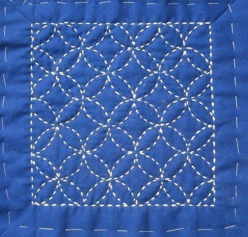 types of embroidery: sashiko