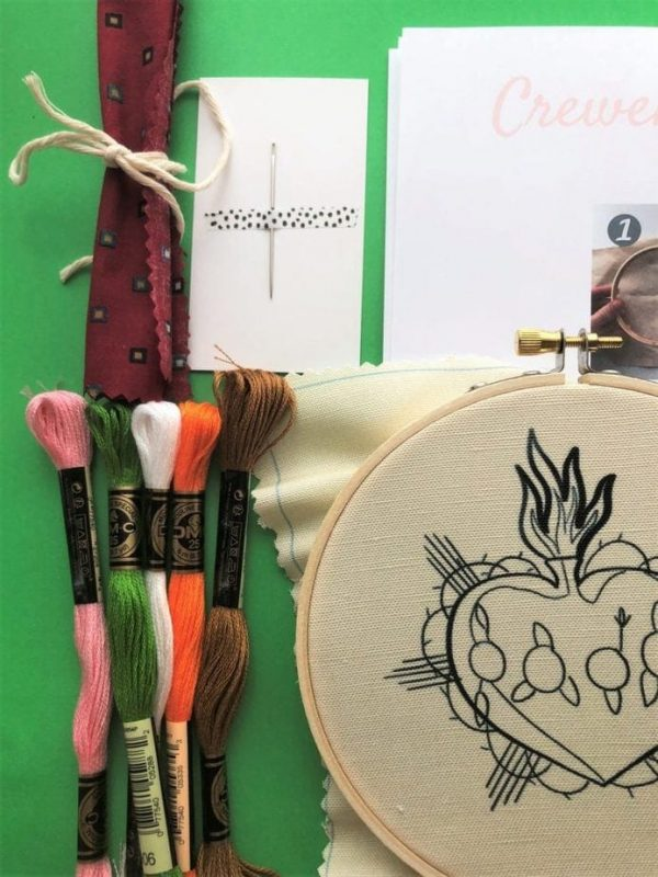 embroidery kit contents