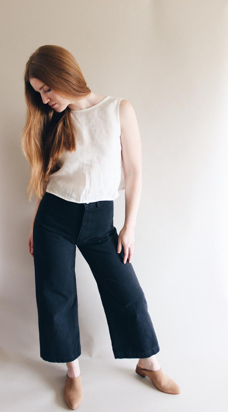 pants sewing pattern, learning to sew basics
