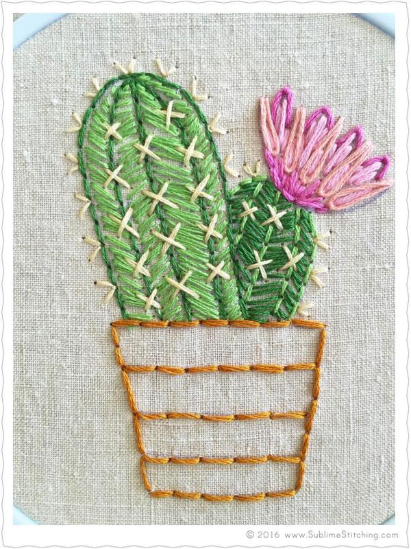 cactus pdf pattern