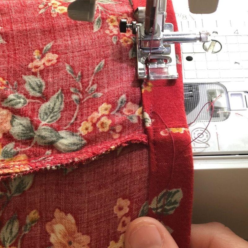 hemming clothing
