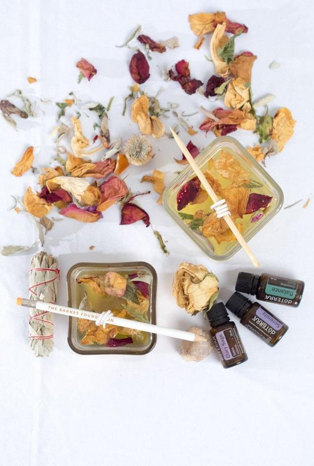 essential oil candle making kit