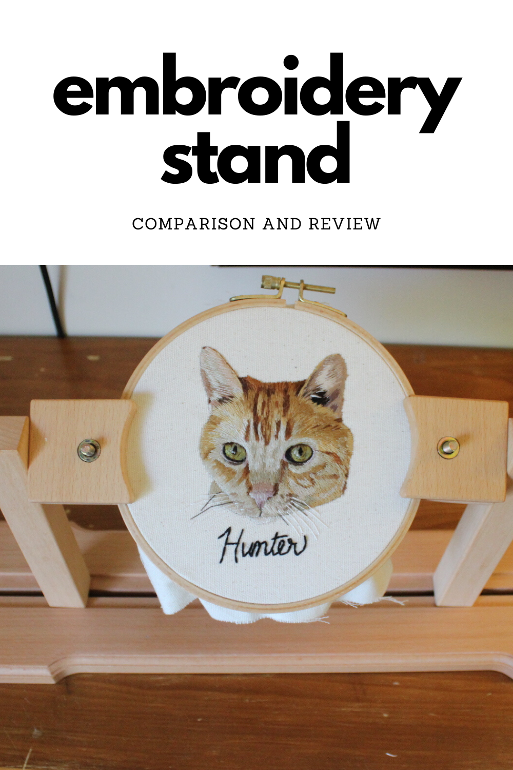 embroidery hoop stand comparison and review