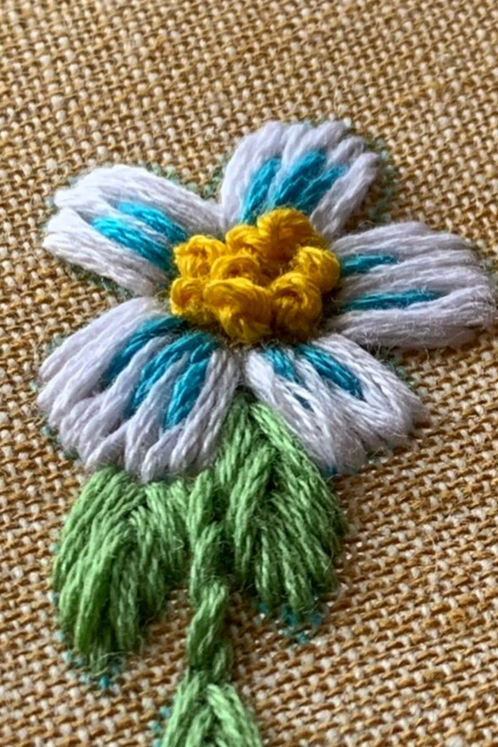 How to Embroider Flowers By Hand   Crewel Ghoul