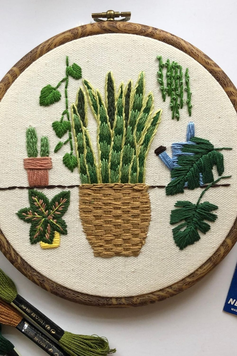 5 Free Plant Embroidery Patterns For Green Thumbs