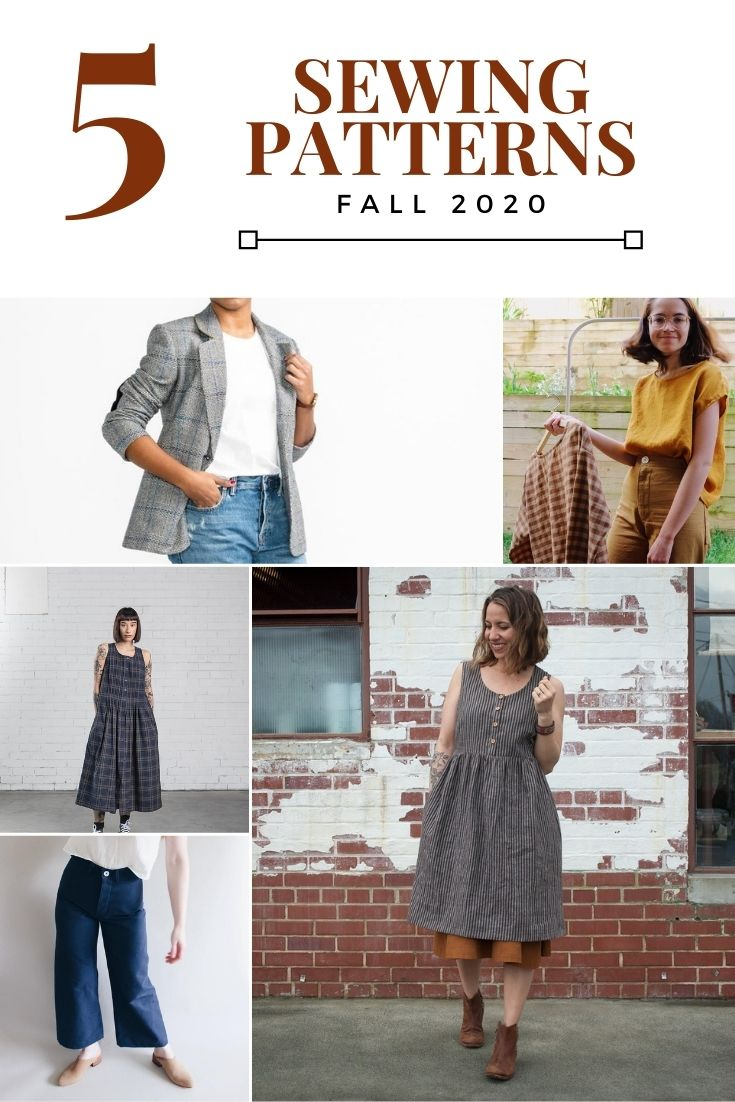 5 sewing patterns for women fall 2020