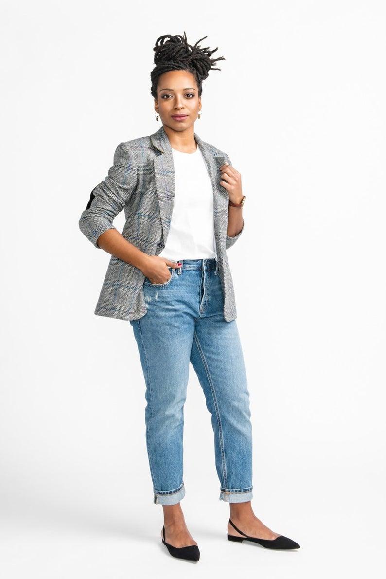 blazer sewing pattern for women