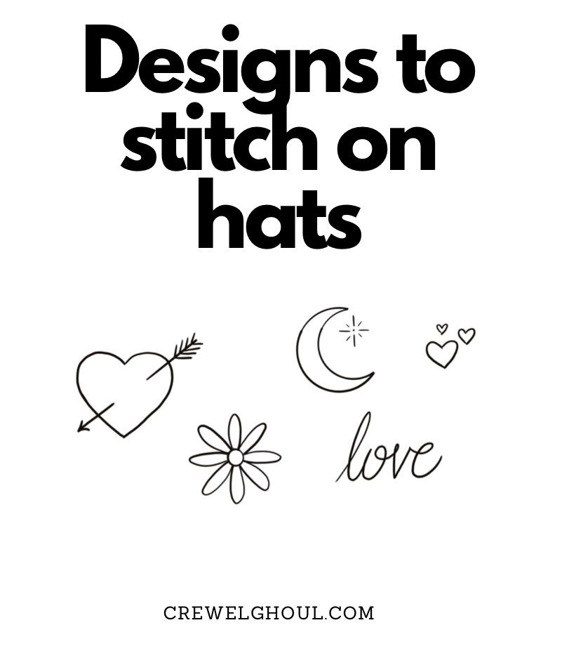 embroidery designs for hats