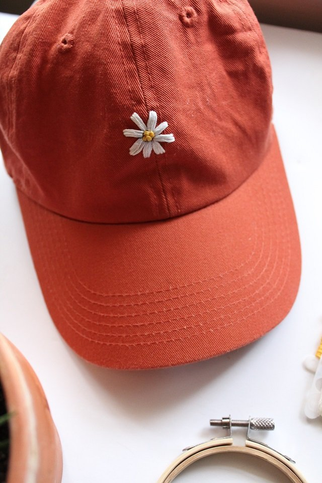 How To Embroider A Hat By Hand – The Easy Way!