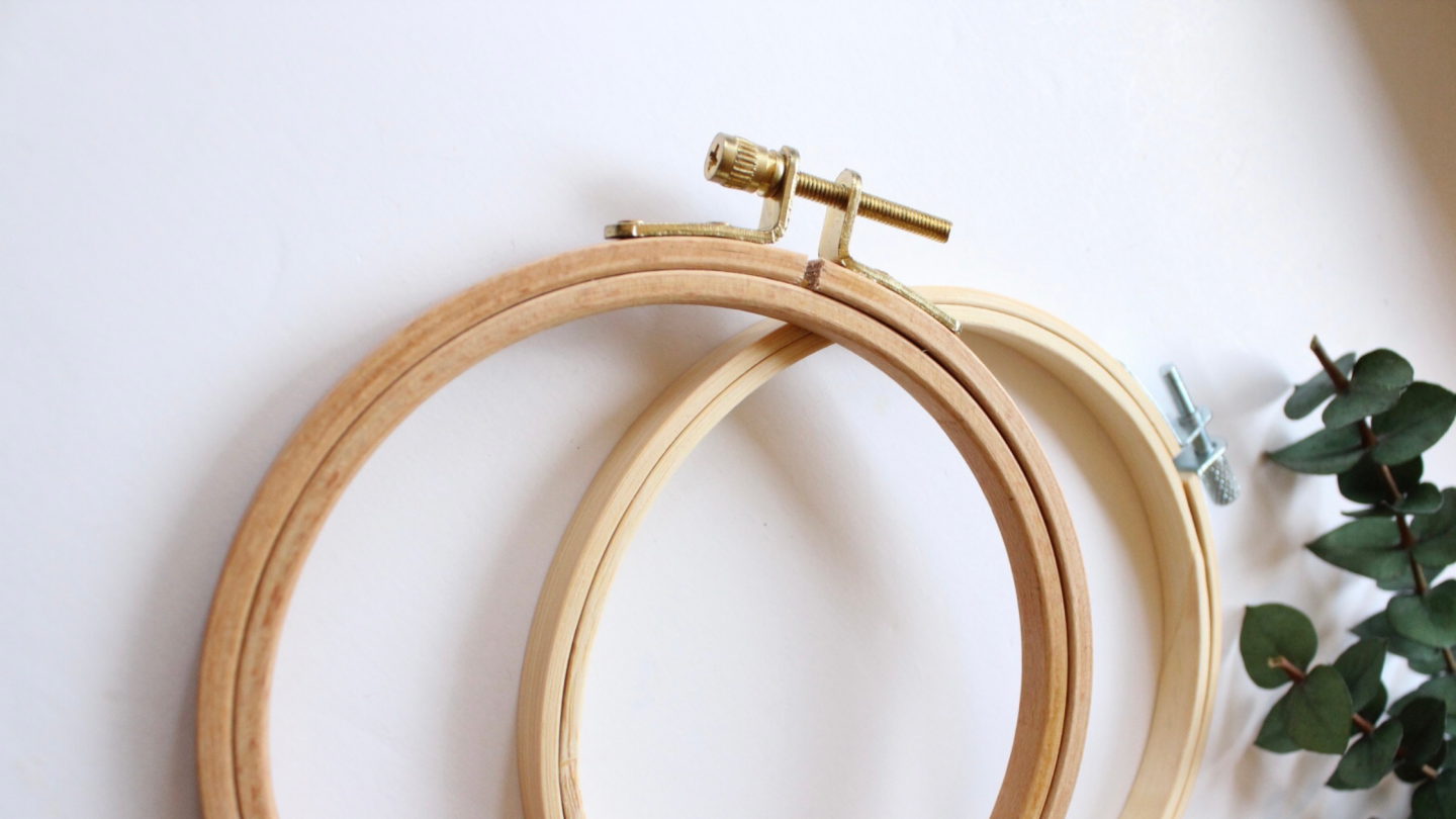 embroidery tools and materials - embroidery hoops