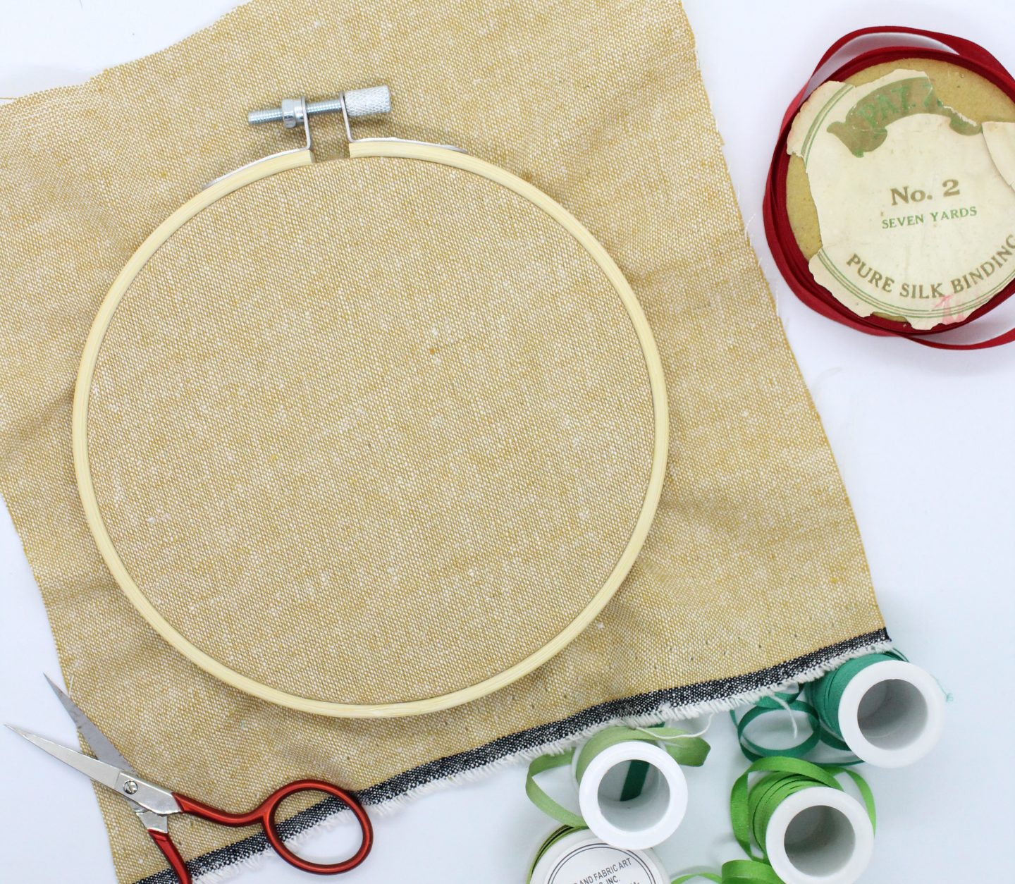 ribbon embroidery supplies